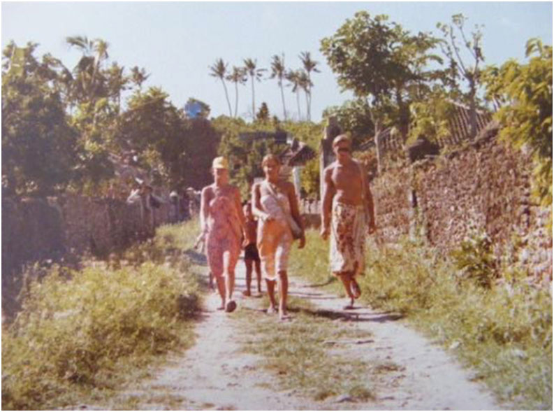 Somewhere in Bali. 1983.